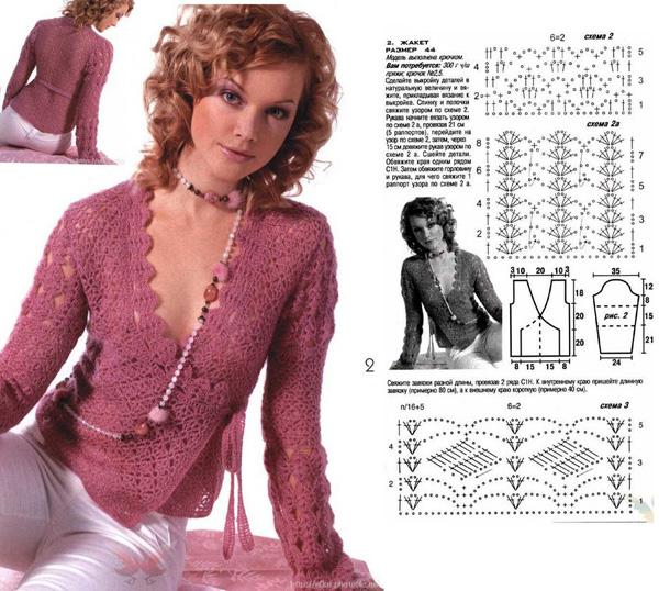Вязание спицами модели и описание дневники