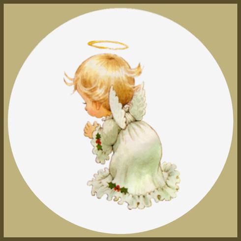 """Когда-то для вдохновения  """"натаскала """" разных ангелочков.  Хочу поделиться, может кому-нибудь что-нибудь сподобается."""