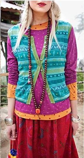 Этно-стиль в одежде.