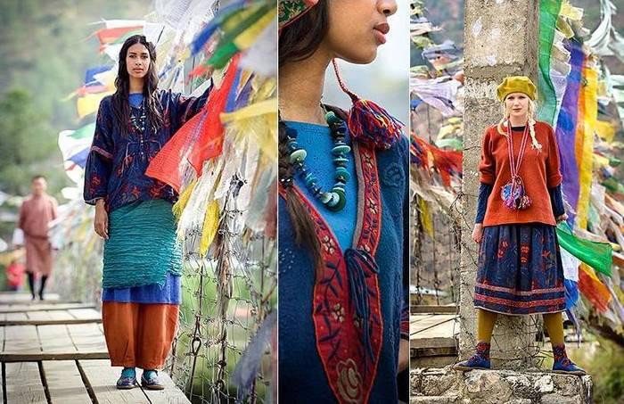 Этно-стиль был замечен неутомимыми дизайнерами благодаря хиппи: они...