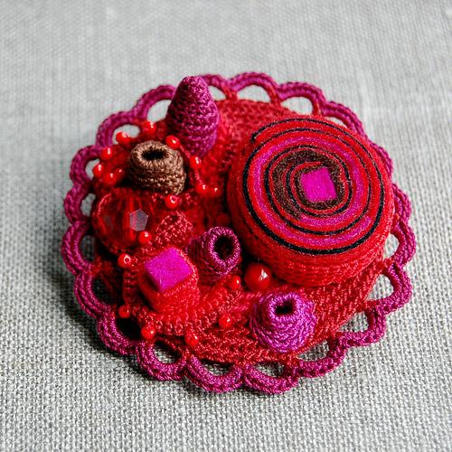 Необычные украшения - вязание крючком, туника вязаная спицами и вязание...