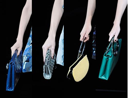 Объемные сумки носите этой зимой, следующей весной клатчи возвращаются!