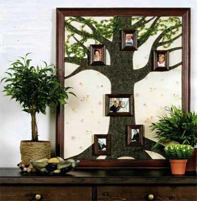 Такое генеалогическое дерево, сделанное своими руками, может стать приятным и неожиданным подарком для наших близких.