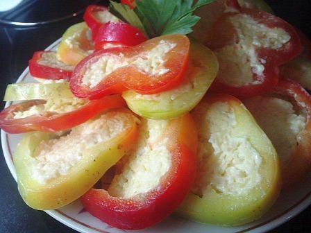 Закуска из болгарского перца.  Лично для нашей семьи рецепт интересен...