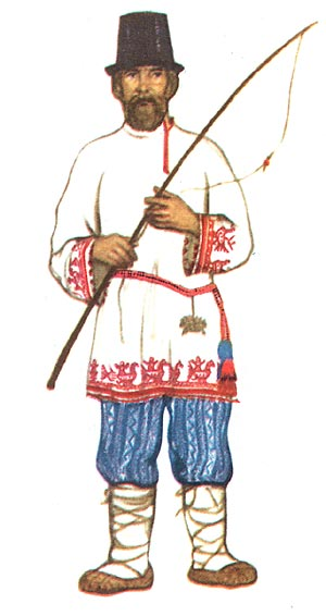 Русский народный наряд (традиция против моды)Галереи
