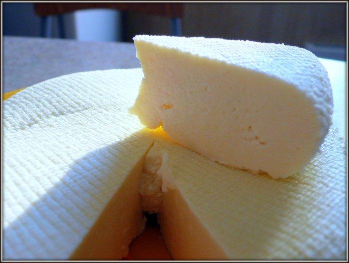 Сыр творог брынза
