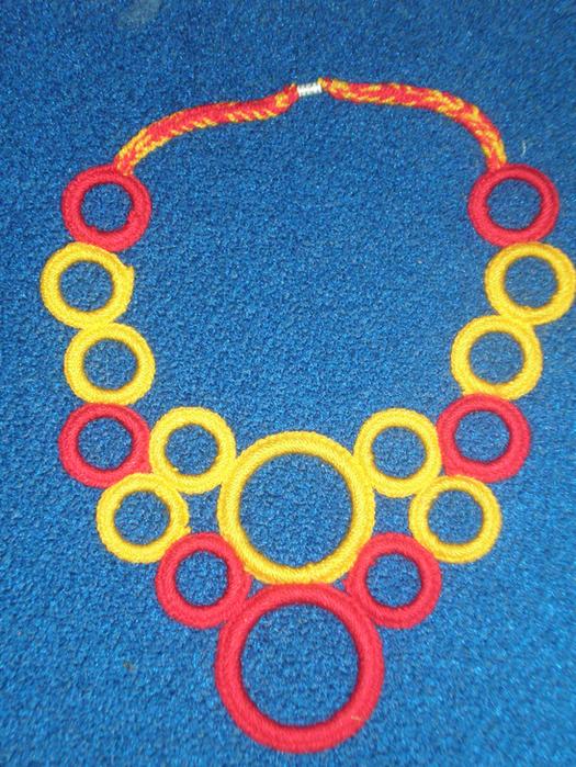 Вязание крючком обвязка колец 100