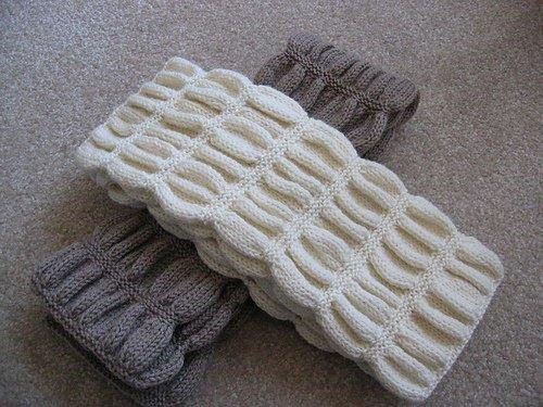Наталья.  И еще один простой, но интересный шарфик.