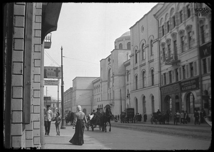 Москва, которой нет.  Улицы москвы.