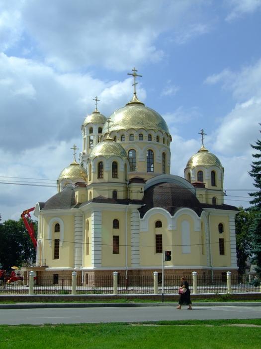 Православный храм. Нальчик