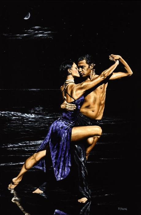 Танго - танец необузданных страстей.