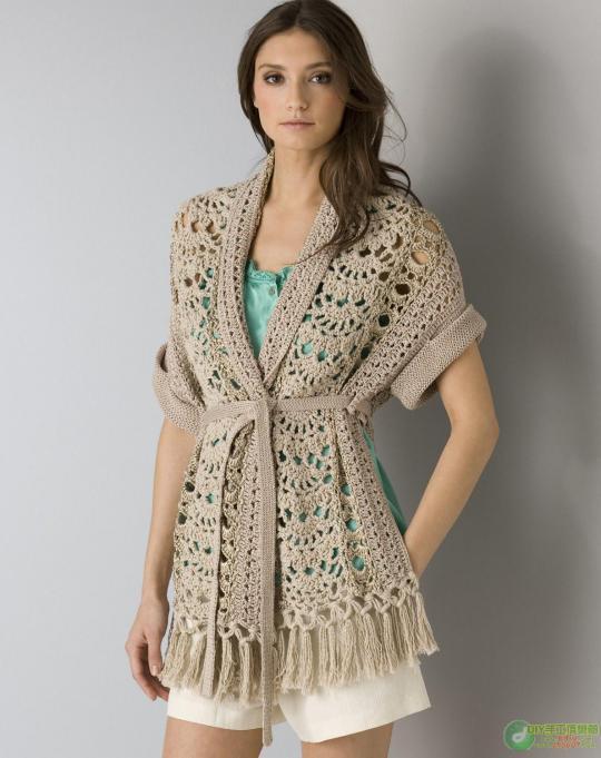 Patrones blusas tejidas a dos agujas - Imagui