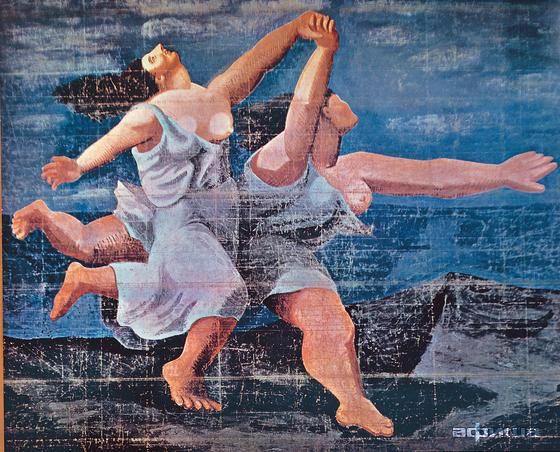 """Видение танца"""" в Третьяковской галерее."""