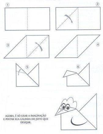 Лёгкие поделки из бумаги своими руками схемы