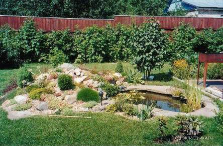 Наша компания использует передовые методы и технологии для создания ландшафтного дизайна садовых участков.
