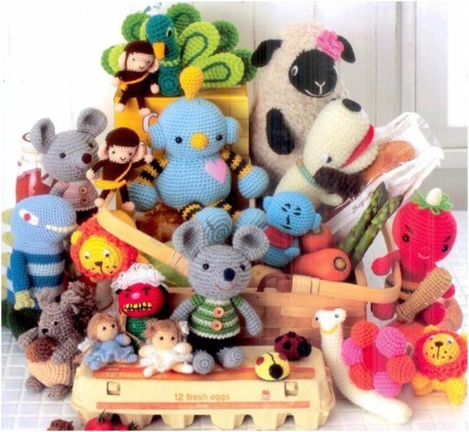 Смотреть вязание крючком игрушки схемы бесплатно.