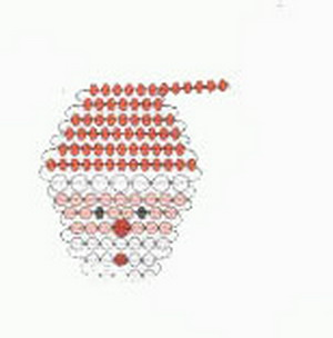 Снегурочка из бисера своими руками схемы