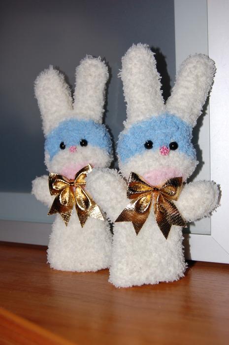 Заяц из перчатки