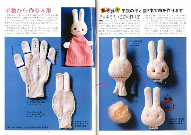 Кукольный театр на руку своими руками выкройки