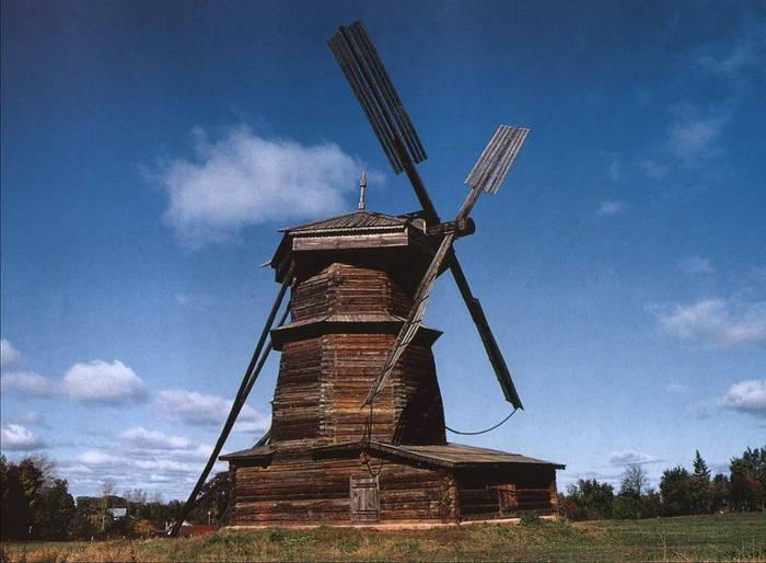 Принцип действия ветряных мельниц был известен с древности, но лишь с XII века они начали распространяться по Европе...