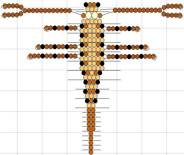 Существует много схем плетения