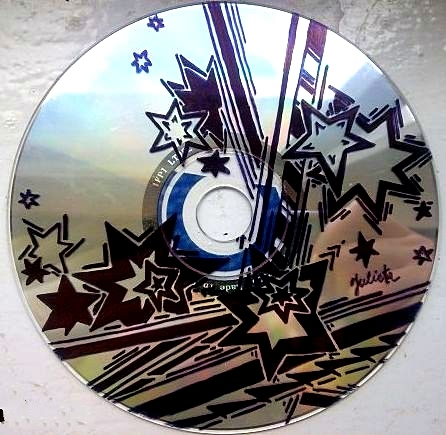 Гравюра своими руками на диске с