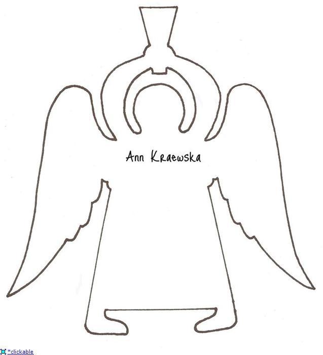 схемы ангелочков для вырезания
