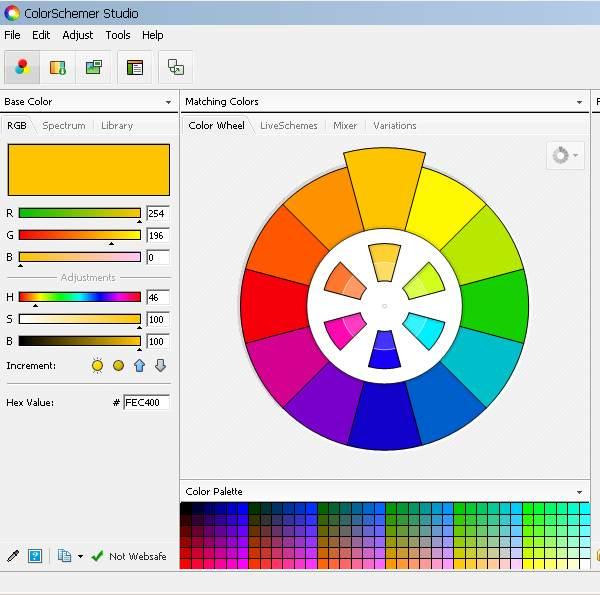 Скачать ColorSchemer Studio 2.1.0 бесплатно без регистрации. ColorSchemer