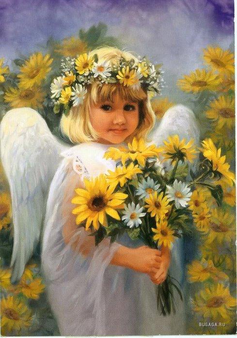 Цветы и ангелы 2