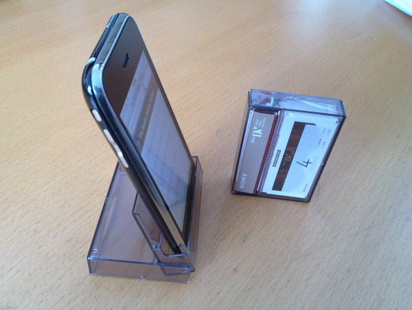 Как сделать из коробки подставку для телефона