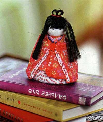 Японские куклы своими руками мастер класс