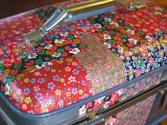 Декупаж на чемоданах