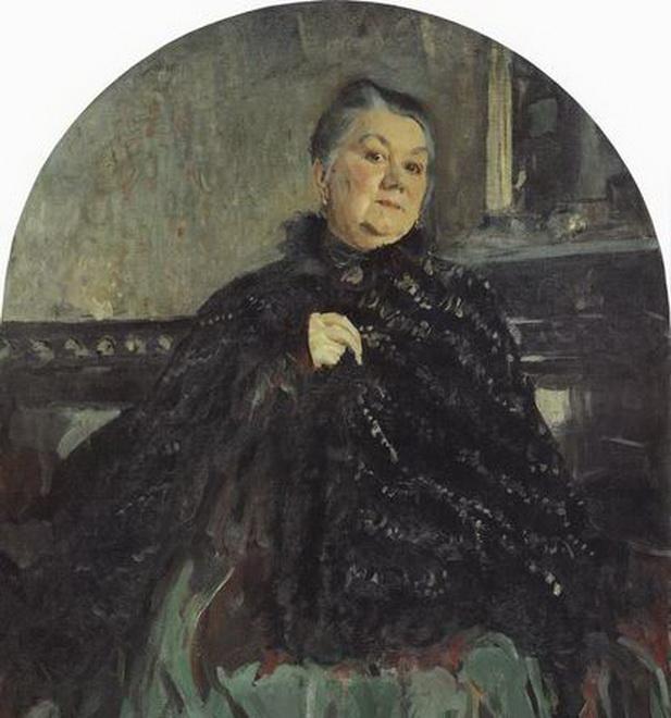 Портрет артистки г н федотовой 1905