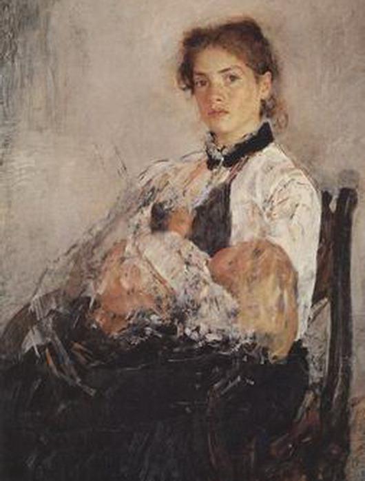 Валентин серов женские портреты