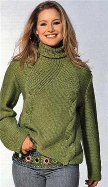 Вязание спицами - модель