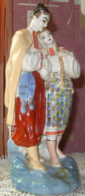 советские статуэтки из фарфора хорошая