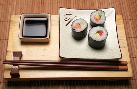 Суши на обед и на ужин
