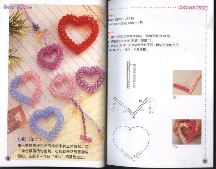 Многие спрашивают схемку сердечка...Вот схемка...В основе плетения квадратный жгут.