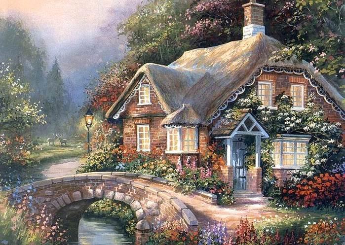 свой цитатник или сообщество!  Уютные домики от Jim Mitchell.  Прочитать целикомВ.