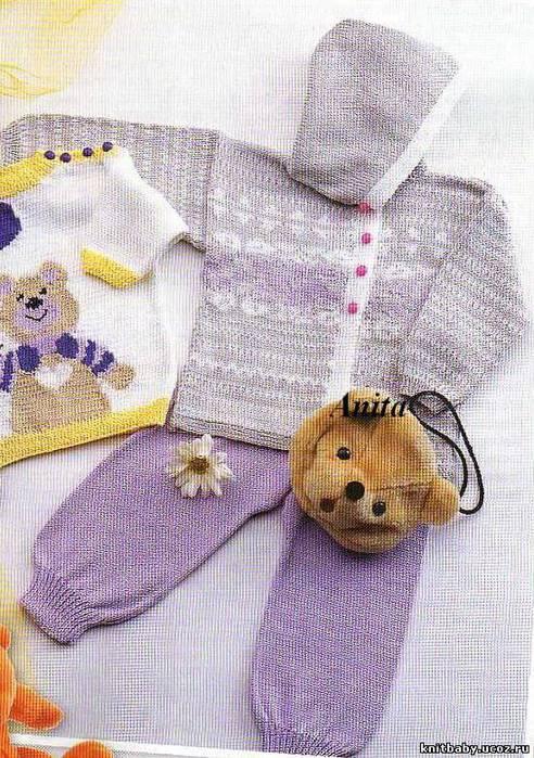 Схемы вязания детского