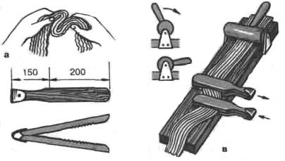 Поделки из веревки бечевки.