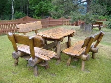 Садовая мебели своими руками
