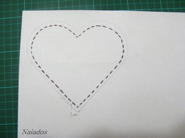 Как сделать в форме сердечка