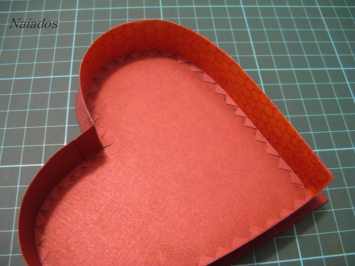 Как сделать шкатулку в виде сердца из бумаги