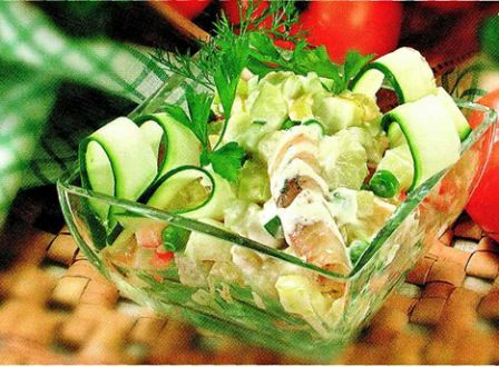 В данном разделе нашего сайта мы предлагаем вам рецепты вкусных салатов...