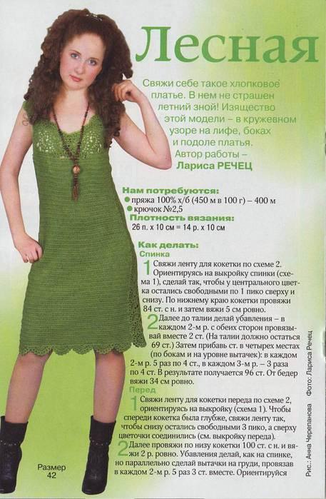 Связать себе платье сонник