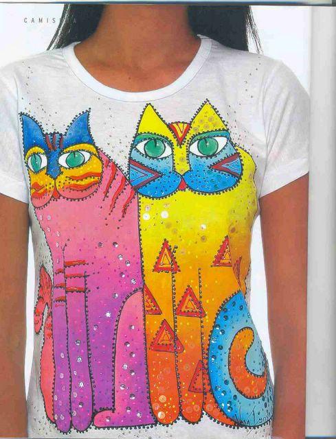 Рисунки футболок своими руками