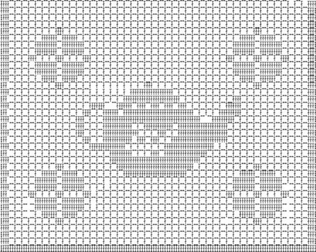 Филейное вязание +схемы.  Для тех кто не знает, хочу пояснить, что каждая.