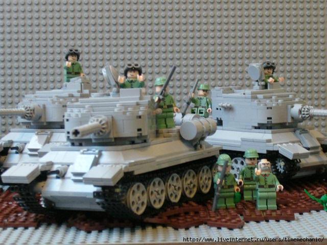 Как сделать лего танк т34 - Gomdm.com