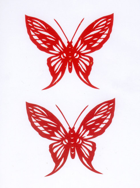 Как научится рисовать карандашом бабочек
